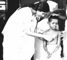 Annie Working with Leprosy Patients
